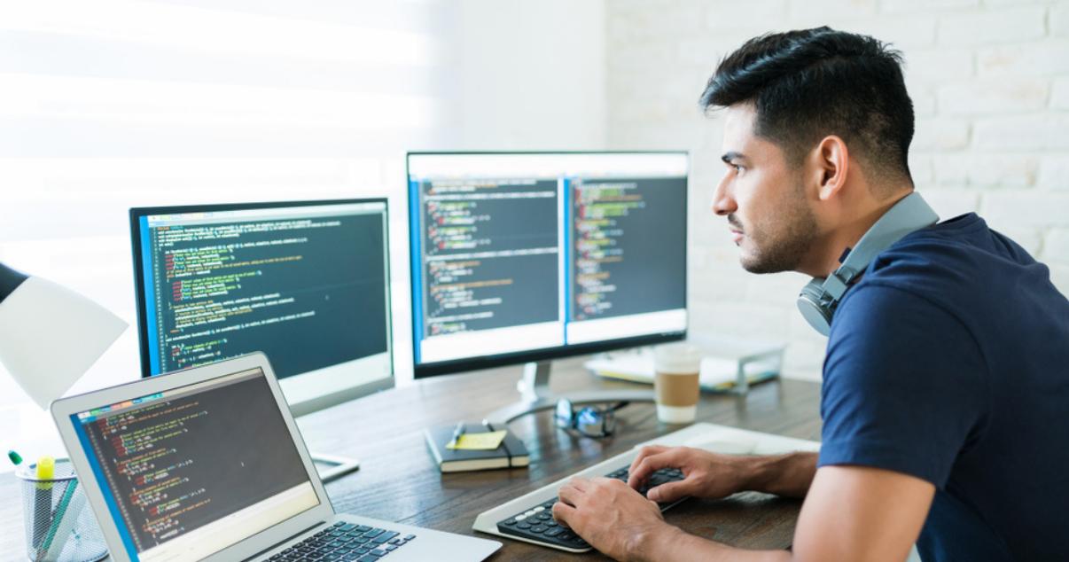 Devoloper working on an open project