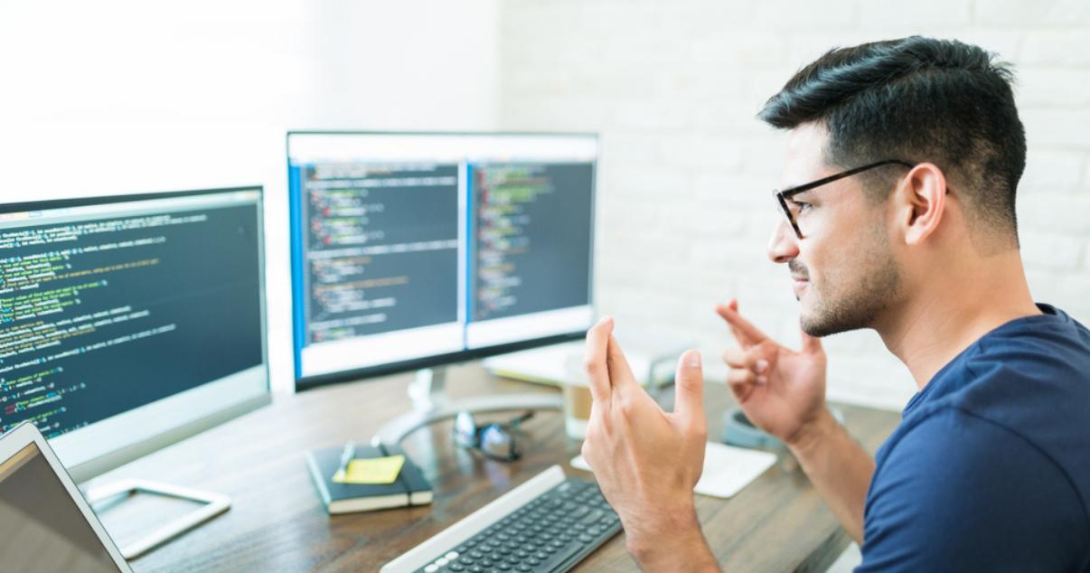 software developer programming